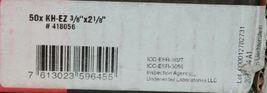 "Hilti 418056 KH EZ Concrete and Masonry Screw Anchor Silver 3/8"" x 2 1/8"" 50 pcs image 5"