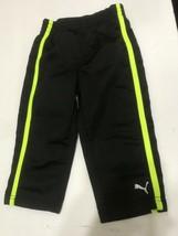 Puma Boys Size 18M Striped Sweatpants Elastic Waistband Pants Sweats You... - $8.15