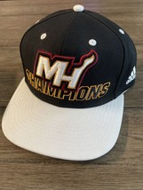 Miami Heat Vintage 2006 NBA Champions Hat Adidas NWOT - £21.42 GBP