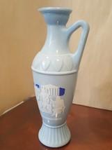 Vintage 1961 Blue Grecian Socrates, Plato and Aristotle Decanter, vase, ... - $16.00