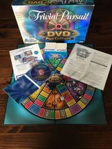 Pop Culture DVD Trivial Pursuit Parker Brothers 2003 - Trivia Board Game retro - $14.03