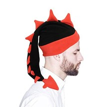 Funkeet Crazy Long Plush Spike Dragon Stegosaurus Tail Hat Fun Party Cos... - $20.67