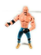 Bill Goldberg Wcw Marvel 1999 Wrestling Figure Wwe Blue Jeans - $20.78