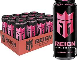 Reign Total Body Fuel, Carnival Candy, Fitness & Performance Drink, 16 o... - $39.19