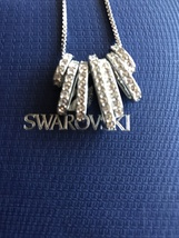 Swarovski Crystal Sterling Silver Necklace Jewelry - $95.00