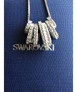Swarovski Crystal Sterling Silver Necklace Jewelry - $95.00