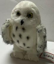 "Douglas Wizard Snowy Owl Plush Stuffed Animal 8"" With Tags White & Gray - $16.99"