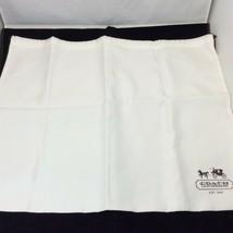 "Coach Satin Dust Cover Storage Sleeper Bag L Size 23""x 19"" Dust Bag Carr... - $20.74"
