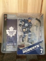 McFarlane NHL Gary Roberts #7 Series 8 Toronto Maple Leafs Figure Blue J... - $12.36