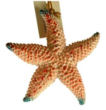 Tropical Sea Star Starfish Ocean animal Christmas Ornament 4 Inches 08 - $15.96