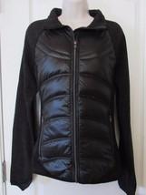 London Fog  Down Puffer & Sweater Mid-weight Jacket Black Women's S-XXL NWT - $41.09