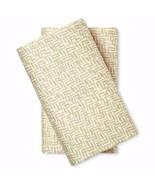Nate Berkus Cotton Sateen Pillowcases Two King Gray Soft 300 Thread Count - $24.74