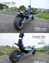 Electric Scooter TNE Creator Plus 3600w 60v 26ah Lithium Battery Dual Hub Motors image 5