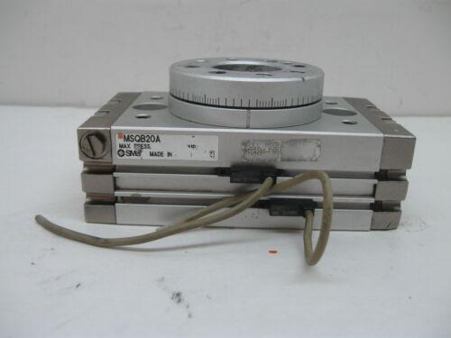 Smc MSQB20A-F9BVL Misura 20 Rotante Attuatore image 3