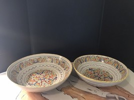 Two Bowls By Meriana Ceramiche Design By Rafael Lesco. One Lage One Medium - $24.75
