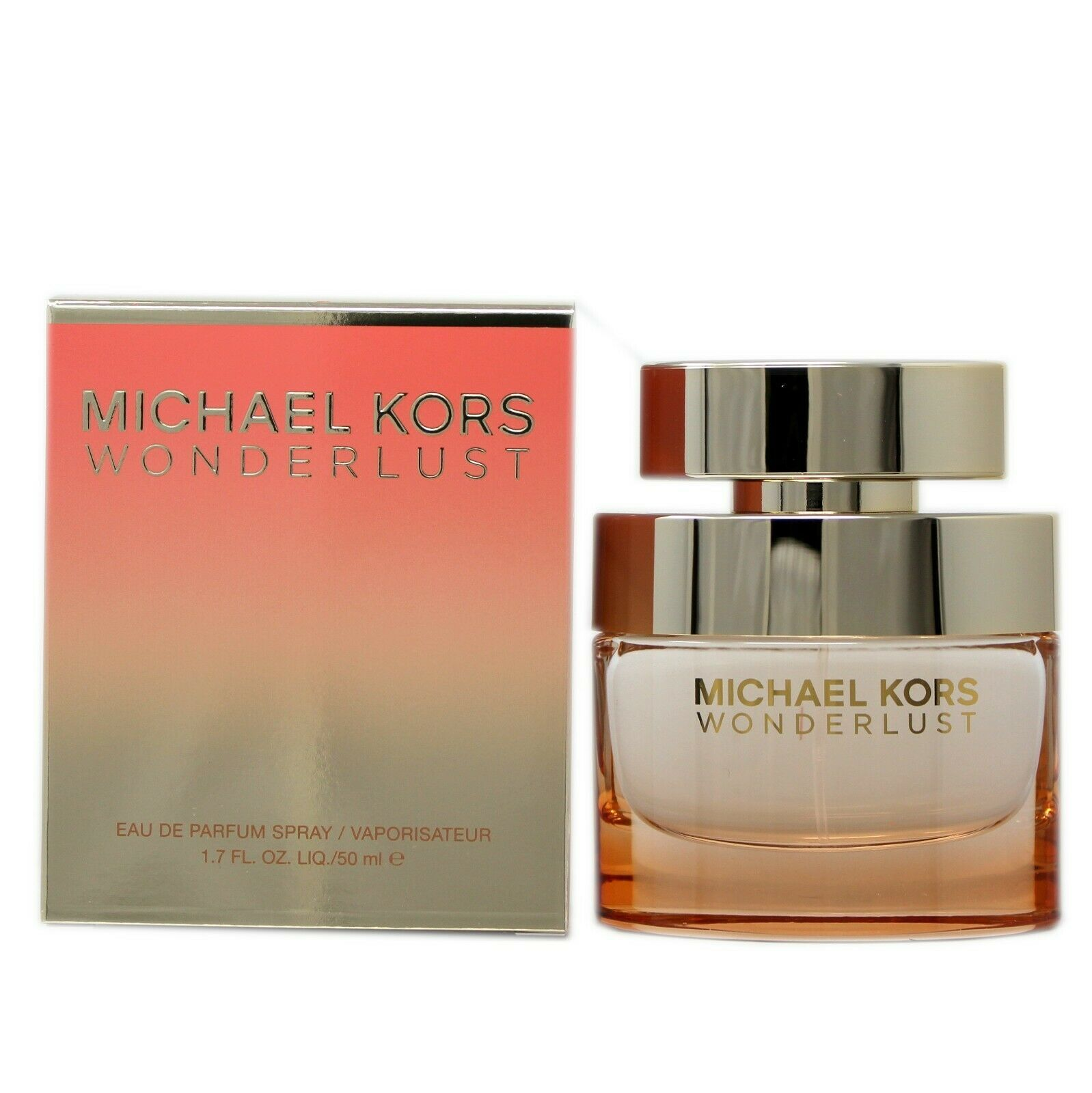 MICHAEL KORS WONDERLUST EAU DE PARFUM SPRAY 50 ML/1.7 FL.OZ. NIB - $64.35