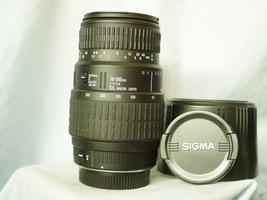 Sigma SLR Camera 70-300mm DL Macro Super Lens - Super Bokeh - SA300  - $40.00