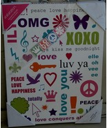 Target Xhilaration Hanging Wall Art: Texting - NEW - GREAT GRAPHICS - CO... - $21.77