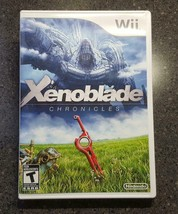Xenoblade Chronicles (Nintendo Wii, 2012) Game, Manual & Reversible Cove... - $33.00