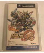 SUPER ROBOT TAISEN GC Nintendo Gamecube Japan Import NTSC-J DOL-P-GRWJ - $19.54