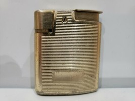 VINTAGE WORKING RONSON VARAFLAME WHIRLWIND LIGHTER Gold TONE - $36.41