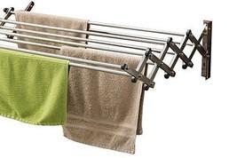 Telescoping Adjustable Towel Rack Bathroom Stor... - $84.99