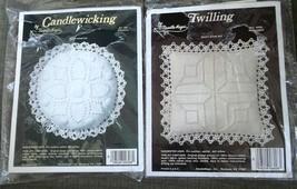 Candlewicking Twilling 2 Kits Make Sachet Doll Pillow Friendship Reflect... - $19.79