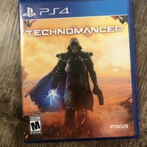 TECHNOMANCER -- Playstation 4 -- PS4 -- Free Shipping - $9.65
