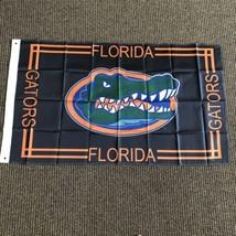 Florida Gators Black New Flag 3' x 5' Metal Grommets - $24.74