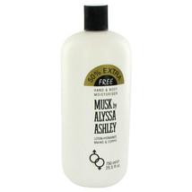 Alyssa Ashley Musk By Houbigant For Women 25.5 oz Body Lotion - $28.55