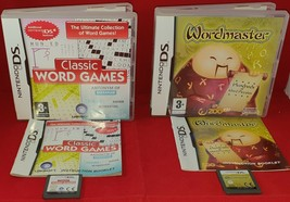 Wordmaster & Classic Word Games (Nintendo DS) VGC - $8.65