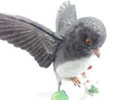 THE LENOX GARDEN BIRD COLLECTION Dark-Eyed Junco (Fine Porcelain 1991) image 7