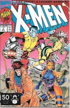 X-Men Comic Book Second Series #1 Gambit Cover Marvel 1991 VFN/NEAR MINT... - $4.99
