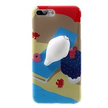 HTC One X10 Case,3D Poke Squishy Cat Seal Panda Polar Bear Squeeze Stretch Compr - $9.89