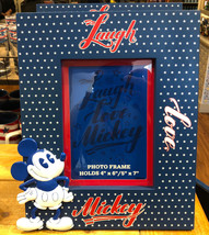 Disney Parks Exclusive Mickey Mouse American Legend Live Love Mickey Photo Frame - $38.78