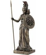 Antico Greco Divinità Athena/Minerva con Protezione Decorativa Bronzo St... - €73,41 EUR