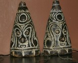 VERY RARE TERRACOTTA CEREMONIAL FEMALE MAMMALIA BREASTS WORN BY SAWOS MEN SEPIK