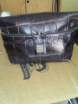 Vintage Authenic Woman's 1975 DOONEY & BOURKE Leather Handbag Purse With Bag - $65.45