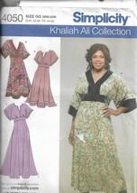 Plus Size Simplicity Pattern #4050-Khaliah Ali- Misses Women's Dress-Sz ... - $4.95