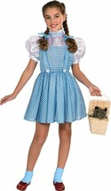 Rubies Wizard Of Oz Dorothy Kids Girls Children Halloween Costume 886488 - $20.99