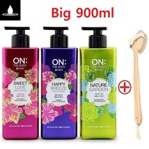 LG ON THE BODY PERFUME BODY WASH 900ml Body Shower + Option Body Brush K... - $13.50+