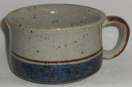 MID CENTURY Otagiri Stoneware MARINER PATTERN 15 oz Soup Mug MADE IN JAPAN - $14.25