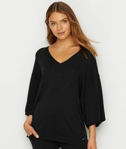 Calvin Klein BLACK Kimono Sleeve Sweater Top, Size US Large - $28.71