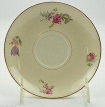 HOUSEHOLD INSTITUTE Priscilla (Cream White-Smooth) saucer lot for cups l... - $19.34