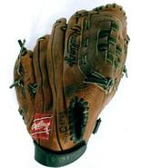 "Rawlings Brown Leather RPT20 Fastback Model Baseball Softball Glove 11.5"" - $29.70"