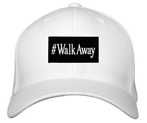 #WalkAway Hat - Political Statement Adjustable Cap (White)