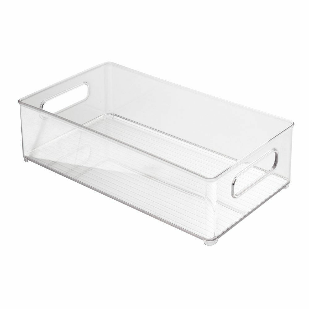 Container Food Refrigerator Freezer Storage Holder Organizer Box Bin Kit NEW - $28.15
