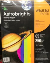 Neenah Paper Astrobrights Colores Tarjeta Stock 29.5kg 8-1/2X 11 Surtido... - $17.77