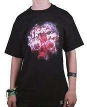 Dissizit Mens Black Hollywood Babylon T-Shirt Slick Los Angeles NWT