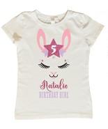 Llama Birthday Shirt, Custom Llama Birthday Shirt, Personalized Llama Bi... - $14.95